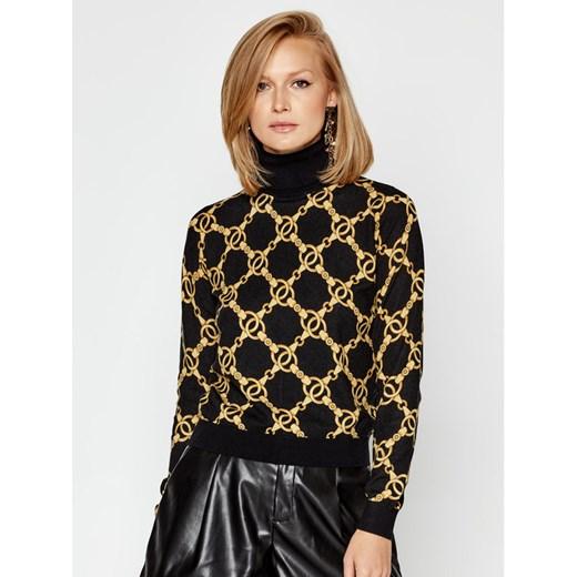 Sweter damski Twinset czarny Odzież Damska VQ wielokolorowy ZIRL