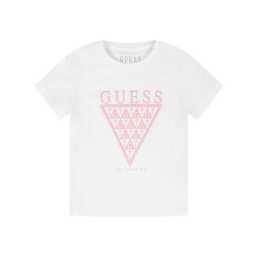 Guess T-Shirt K01I14 K82K0 Biały Regular Fit Guess 5 okazja MODIVO