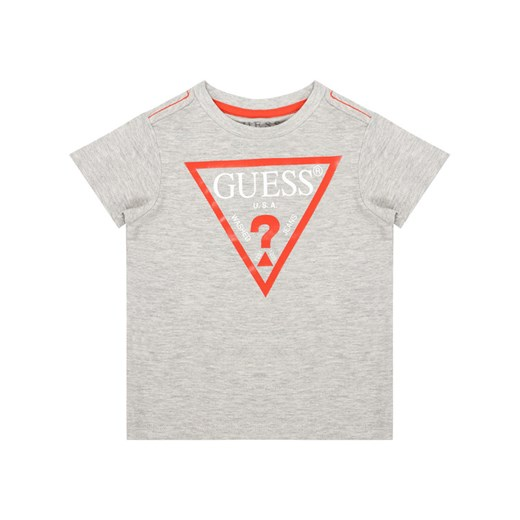 Guess T-Shirt N73I55 K5M20 Szary Regular Fit Guess 3Y MODIVO
