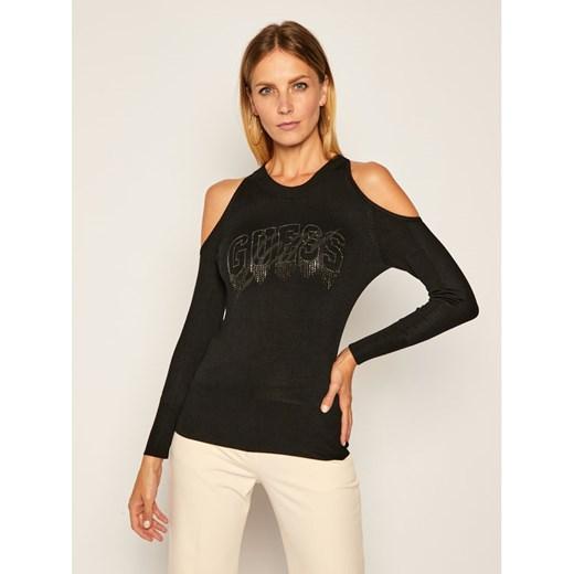 Sweter damski Guess z okrągłym dekoltem Odzież Damska CN QHZF