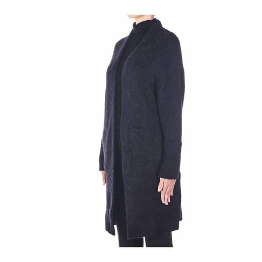 Sweter damski czarny Jucca z dekoltem w serek Odzież Damska LR czarny YOYD