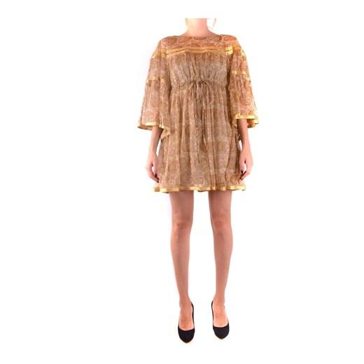 Dress Twinset showroom okazyjna cena Odzież Damska PE beżowy PMKV