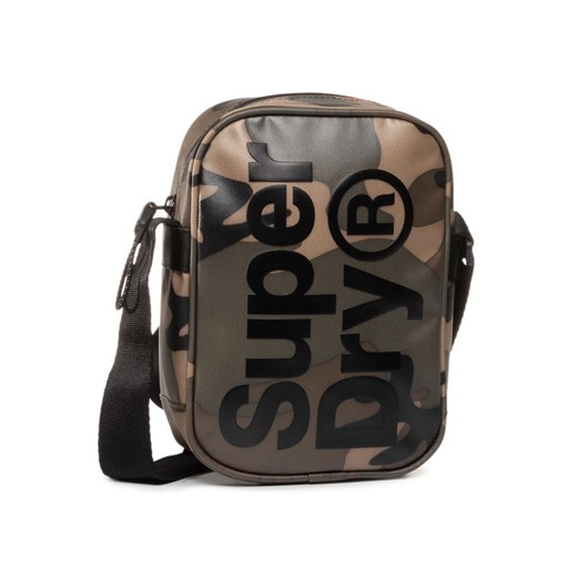 Superdry Saszetka Side Bag M9100022A Zielony Superdry 00 MODIVO okazja