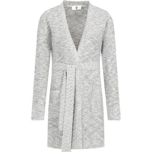 Sweter damski Twin Set bez wzorów Odzież Damska XW szary ALZQ