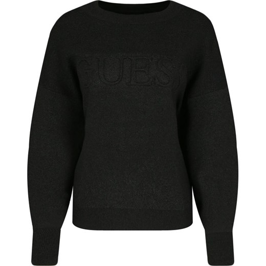 Sweter damski Guess z okrągłym dekoltem Odzież Damska XW NNVW