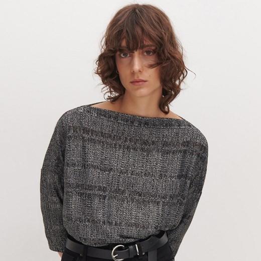 Sweter damski Reserved Odzież Damska YE szary DHKE