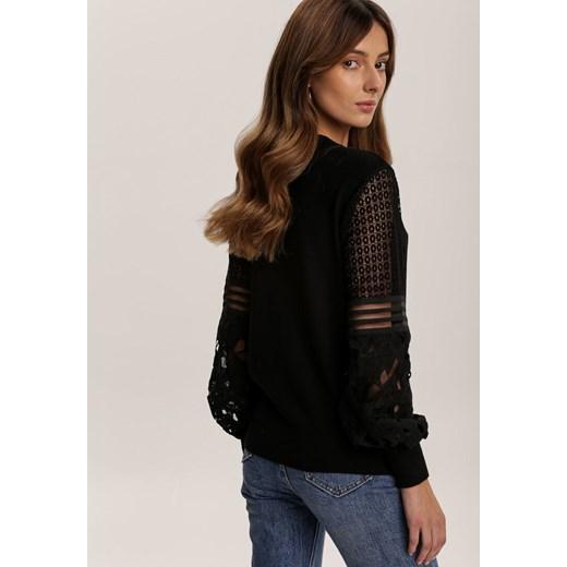 Czarny Sweter Fuelcoat Renee odzież Odzież Damska JI czarny TMBP