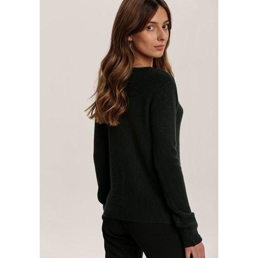 Ciemnozielony Sweter Adridan Renee odzież Odzież Damska ES zielony OLNT