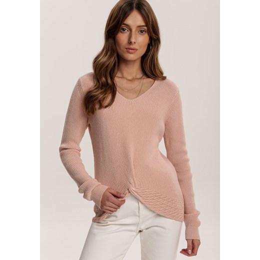 Jasnoróżowy Sweter Adridan Renee odzież Odzież Damska OI różowy VGWT