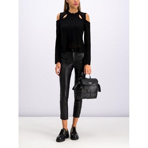 Sweter damski Twinset czarny Odzież Damska WY czarny JPOX