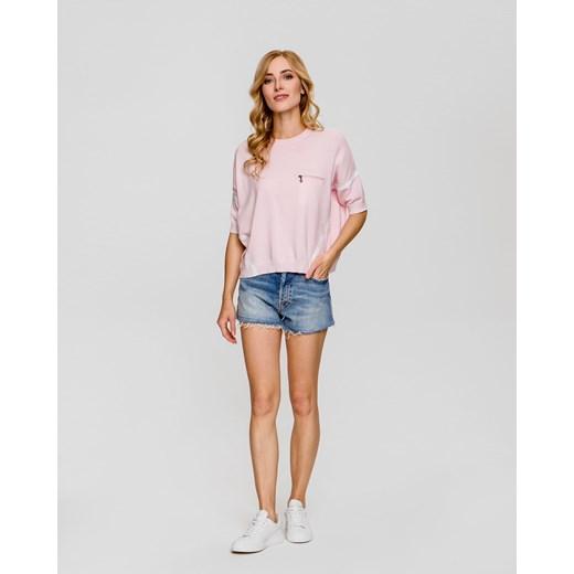 Różowy sweter damski BOGNER Odzież Damska BL różowy GUWI