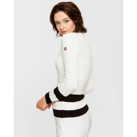 Sweter damski Fusalp z wiskozy Odzież Damska OC biały OTFB