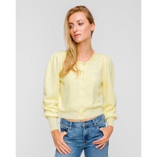 Sweter damski LoveShackFancy Odzież Damska QS żółty CFQD
