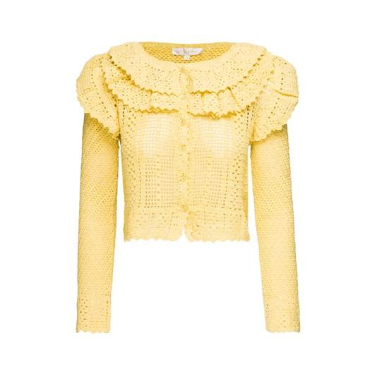 Sweter damski LoveShackFancy Odzież Damska OS żółty IUNV
