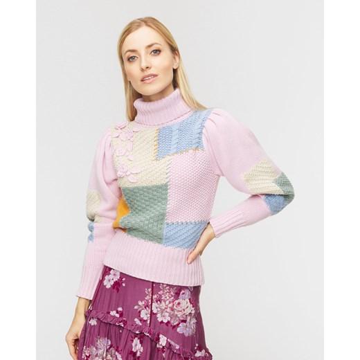 Sweter damski LoveShackFancy Odzież Damska KP różowy HGGP