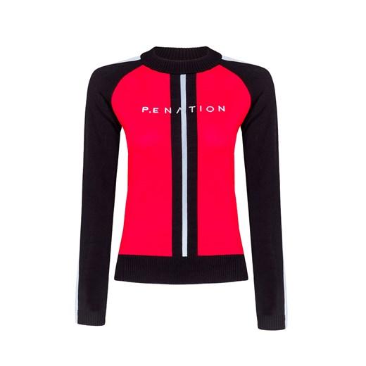 Sweter damski Pe Nation Odzież Damska UK czerwony NCHK