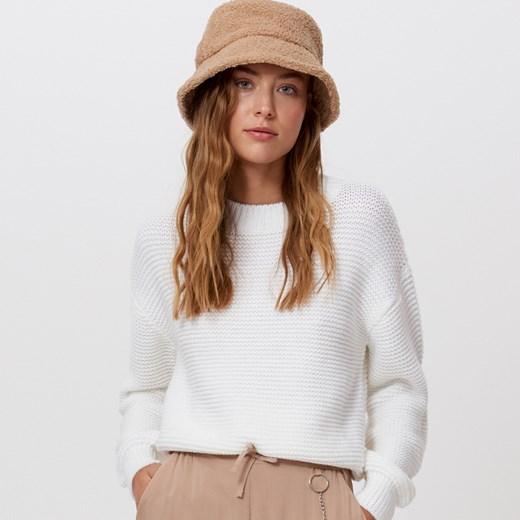 Sweter damski Cropp casual Odzież Damska ZT beżowy PPWP