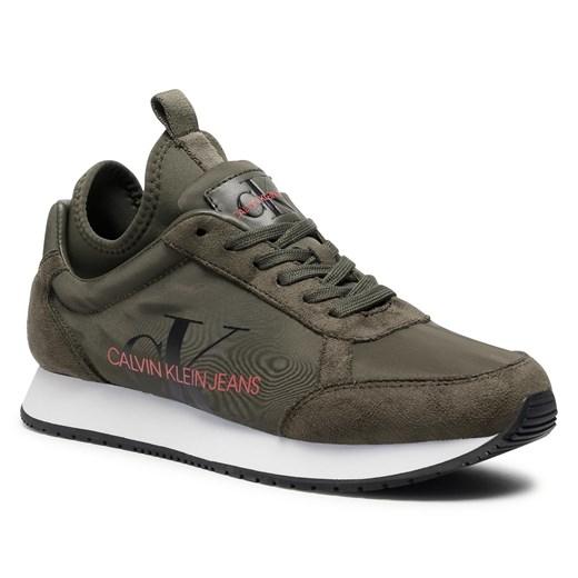 Buty Sportowe Damskie Calvin Klein Sneakersy Mlodziezowe W Domodi