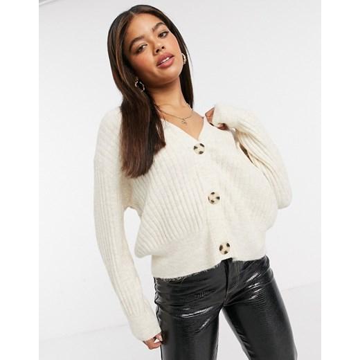 Sweter damski New Look brązowy Odzież Damska SR brązowy MIGO