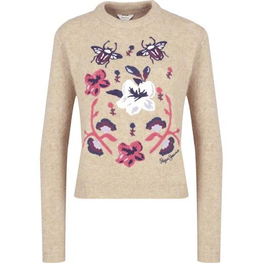 Sweter damski Pepe Jeans z okrągłym dekoltem Odzież Damska UU GXAX