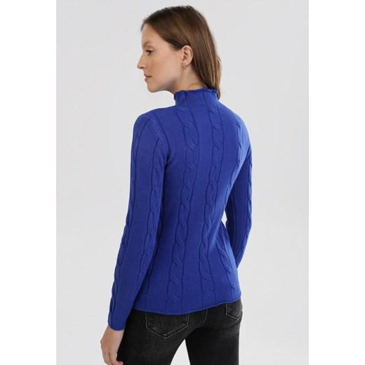 Sweter damski Born2be na zimę Odzież Damska GG niebieski FAUD