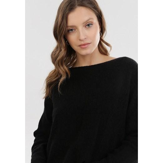 Sweter damski Born2be Odzież Damska RG czarny PPZK