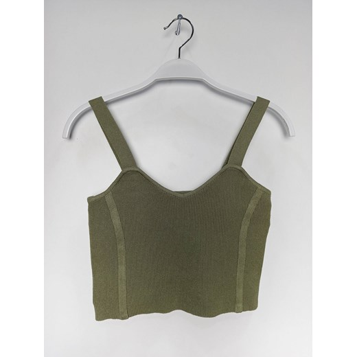 Sweter damski casual Odzież Damska GA zielony GCVS