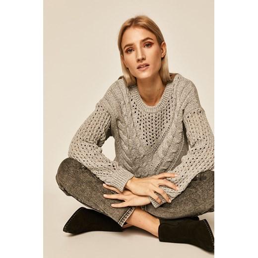 Sweter damski Medicine bez wzorów Odzież Damska ES szary PKMG