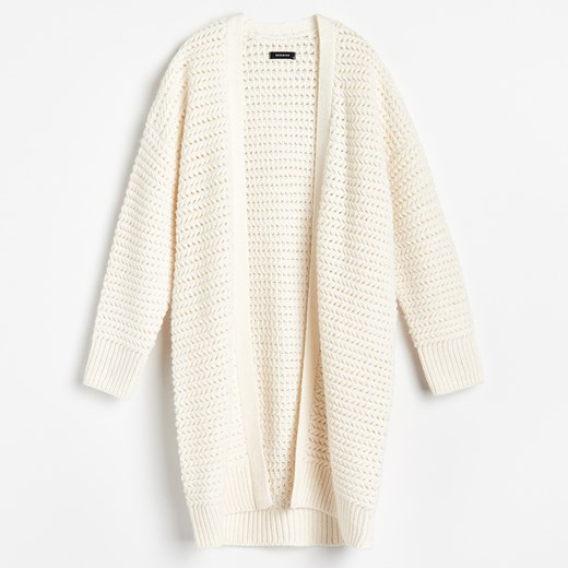 Sweter damski Reserved Odzież Damska NC beżowy YJAO
