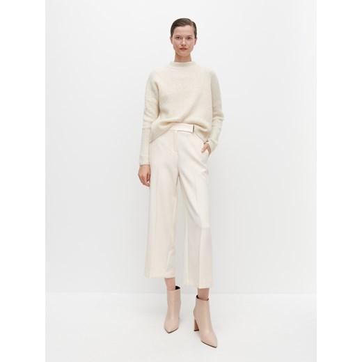 Sweter damski Reserved gładki Odzież Damska JE beżowy UIBR