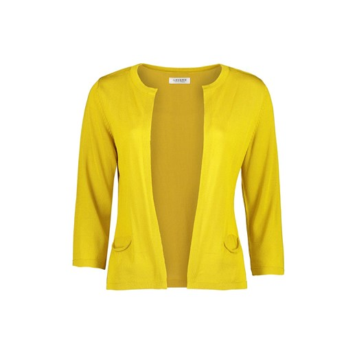 Sweter damski Lavard w serek Odzież Damska TY żółty WLBT
