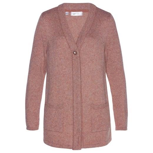 Sweter damski Bonprix casual Odzież Damska FK różowy XFFG