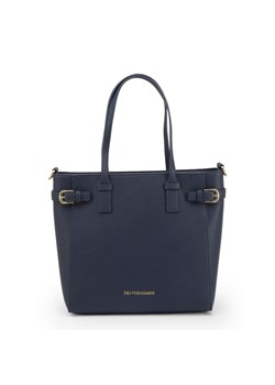 Shopper bag Trussardi skórzana