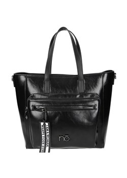 Shopper bag czarna Nobo