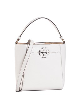 Shopper bag biała Tory Burch