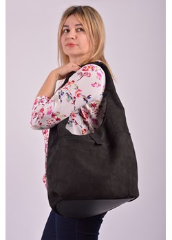 Shopper bag Designs Fashion elegancka zamszowa