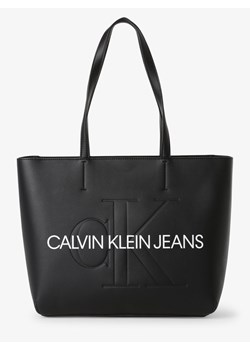 Czarna shopper bag Calvin Klein