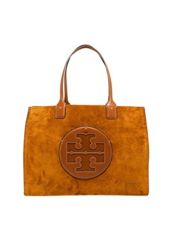 Shopper bag Tory Burch ze skóry do ręki