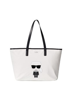Shopper bag Karl Lagerfeld na ramię duża