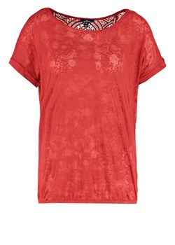 TOM TAILOR Tshirt z nadrukiem terracotta red