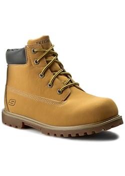 Buty zimowe dziecięce żółte Kappa