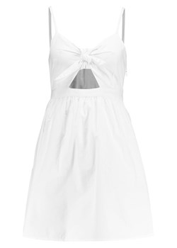 New Look CUT OUT TIE FRONT STRAPPY Sukienka letnia white