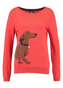 Tom Joule Sweter soft red daschund