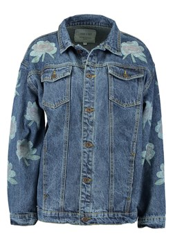 Liquor N Poker DENIM JACKET WITH PRINT Kurtka jeansowa stonewash