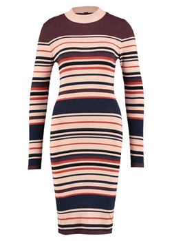 YAS YASMILAN  Sukienka dzianinowa night skystripes:multi colour stripe