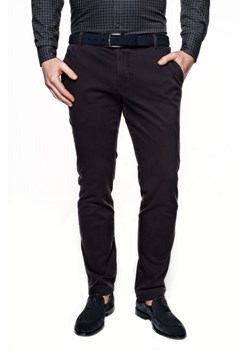 spodnie wendal 214 grafit slim fit
