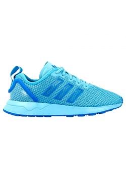 Niebieskie buty sportowe damskie adidas sznurówki, wiosna