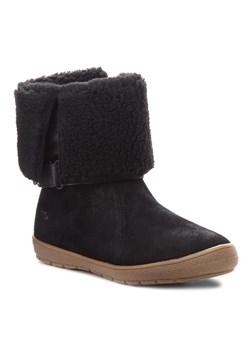 Buty zimowe dziecięce Timberland bez wzorów bez zapięcia