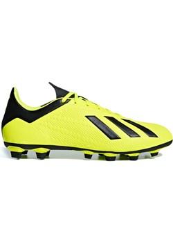 Żółte buty sportowe męskie adidas, wiosna 2020 w Domodi
