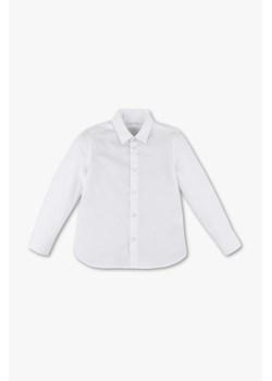 Grain de Chic biała koszula (2Y) groshki bialy guziki w Domodi  qjcmS